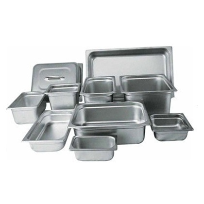 Pans (Stainless Steel & Clear)